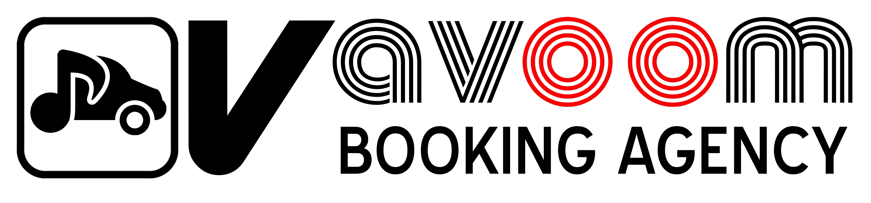Vavoom Booking Agency Logo